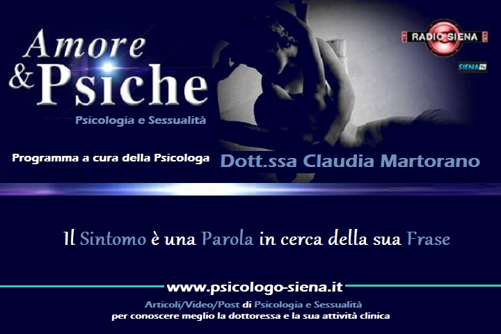Famoso Psicologo Siena > Amore e Psiche | Riflettiamoci Insieme YQ67
